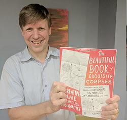 Gavin Edwards with his new book.
