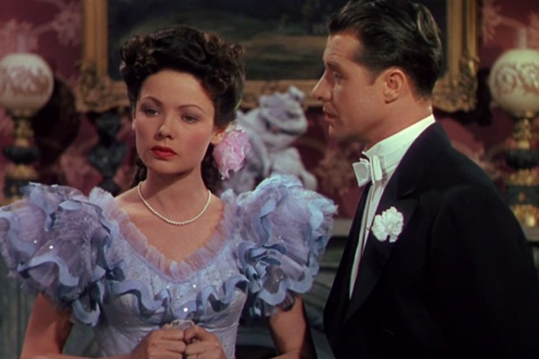 Gene Tierney and Don Ameche in Heaven Can Wait (Photo: Criterion)