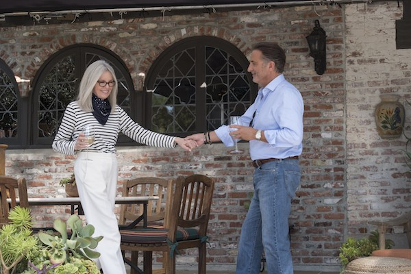 Diane Keaton and Andy Garcia in Book Club (Photo: Paramount)