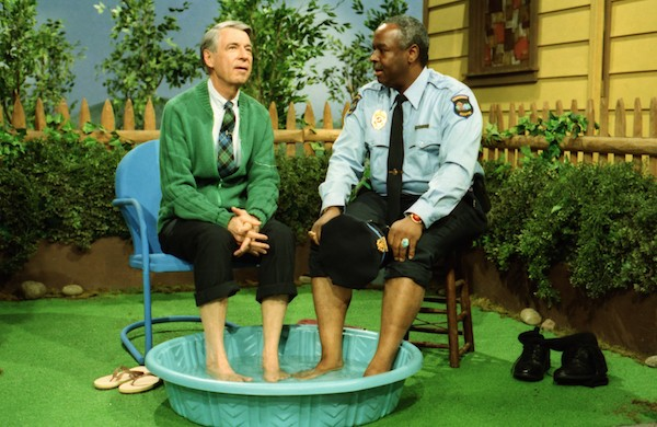 Fred Rogers and François Clemmons in Won't You Be My Neighbor? (Photo: Universal & Focus)