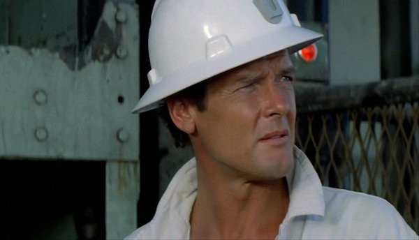 Roger Moore in Gold (Photo: Kino)