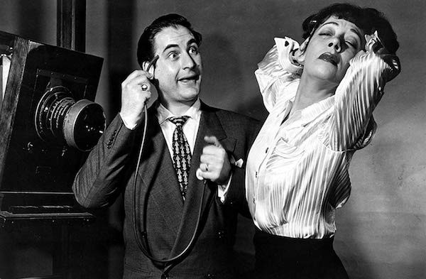 Sid Caesar and Imogene Coca in Your Show of Shows, as featured in Sid Caesar: The Works (Photo: Shout! Factory)