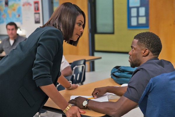 Tiffany Haddish and Kevin Hart in Night School (Photo: Universal)