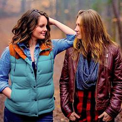 (Left) Courtney Lynn Russell and Jocelyn Quinn Henderson. (Photo by Wendy Hoggard)