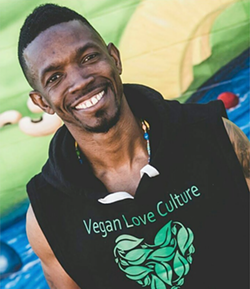 Morathi Howie of Vegan Love Culture. (Photo by Ill Muse Creative)