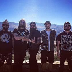 Dirty South Revolutionaries [from left] Jesse Glanz, Sam Fleming, Johnny Moss, Adam Lane, Tyler Bryant. (Photo Courtesy of Johnny Moss)