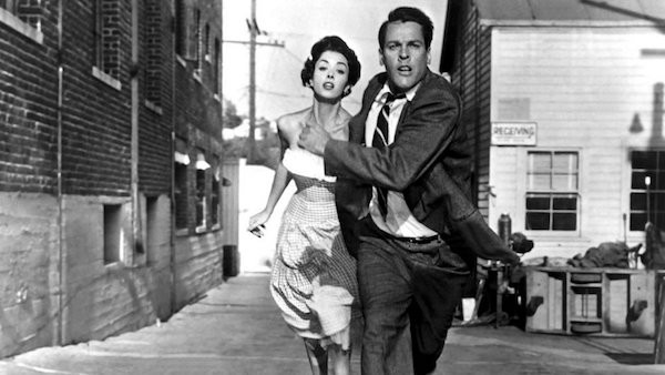 Dana Wynter and Kevin McCarthy in Invasion of the Body Snatchers (Photo: Olive & Paramount)