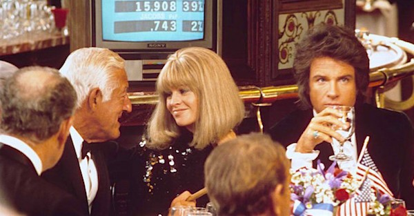 William Castle (yes, that William Castle), Julie Christie and Warren Beatty in Shampoo (Photo: Criterion)