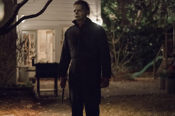 James Jude Courtney as The Shape (aka Michael Myers) in Halloween (Photo: Universal)