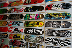 Black Sheep Skate Shop. (Photo by Kim Lawson)
