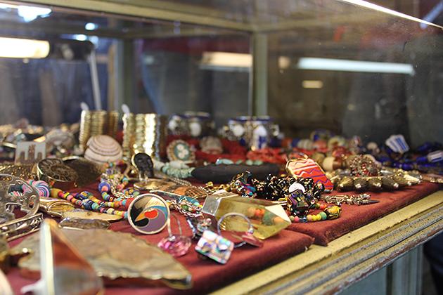 Jewelry from Boris & Natasha.