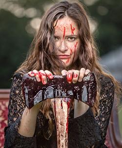 Katy Shepherd in 'Lizzie'