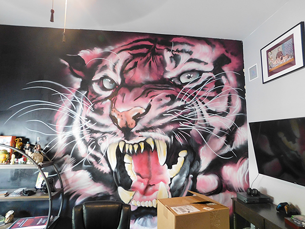 A peak inside the Southern Tiger Collective offices (Photo by Dana Vindigni-Guedes)