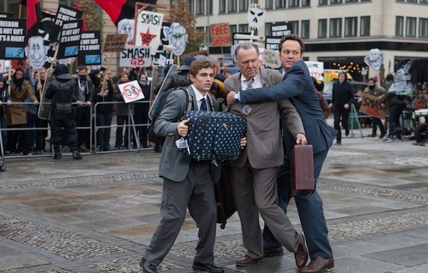 Dave Franco, Tom Wilkinson and Vince Vaughn in Unfinished Business (Photo: Fox)