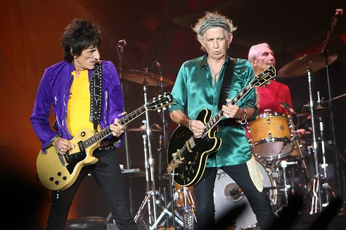 The Rolling Stones - PHOTO BY JEFF HAHNE