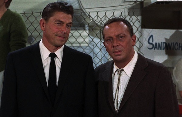 Ronald Reagan and Norman Fell in The Killers (1964) (Photo: Criterion)