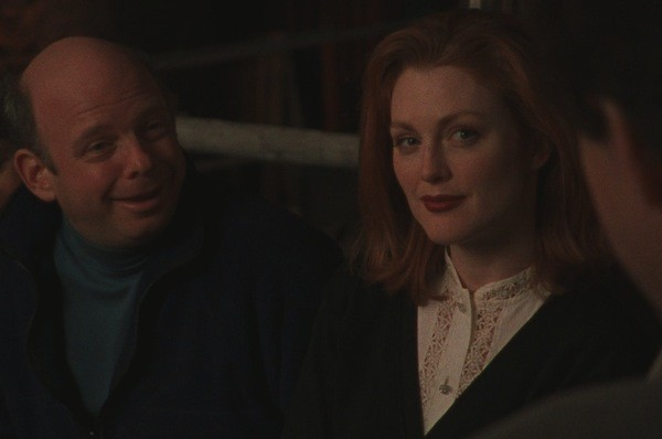 Wallace Shawn and Julianne Moore in Vanya on 42nd Street (Photo: Criterion)