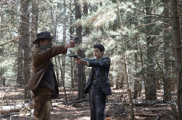 Michael Fassbender and Kodi Smit-McPhee in Slow West (Photo: Lionsgate & A24)