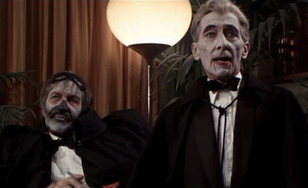 Vincent Price and Peter Cushing in Madhouse (Photo: Kino)