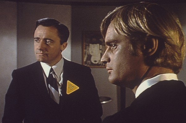 Robert Vaughn and David McCallum in The Man from U.N.C.L.E. (Photo: Warner)