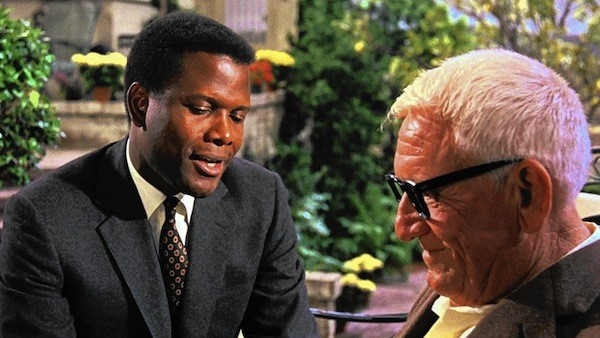 Sidney Poitier and Spencer Tracy in Guess Who's Coming to Dinner (Photo: Twilight Time)