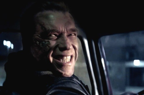 Arnold Schwarzenegger in Terminator Genisys (Photo: Paramount)