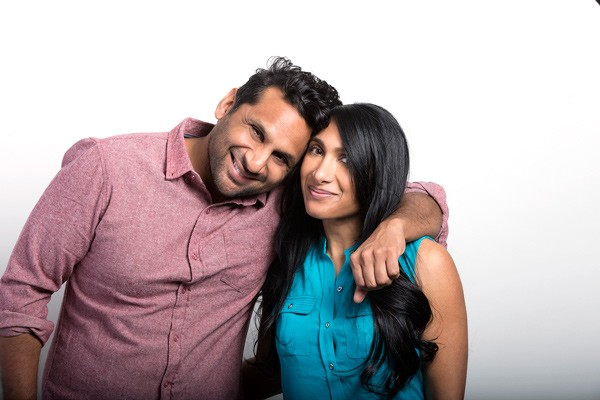 Ravi Patel (left) and his sister, Geeta, co-directed Meet the Patels.