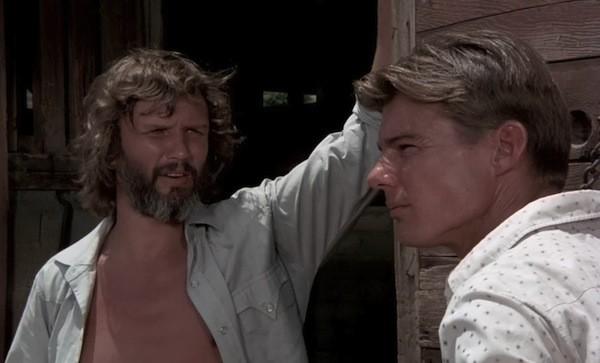 Kris Kristofferson and Jan-Michael Vincent in Vigilante Force (Photo: Kino)