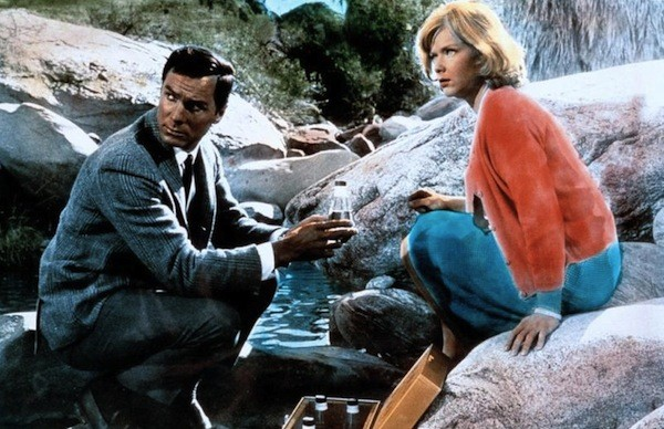 George Maharis and Anne Francis in The Satan Bug (Photo: Kino)