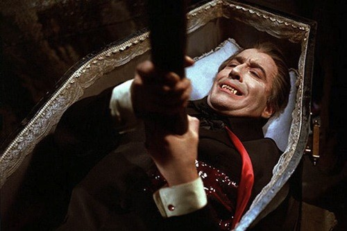 Christopher Lee in Dracula Has Risen from the Grave (Photo: Warner & Hammer)