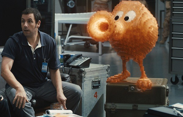 Adam Sandler in Pixels (Photo: Columbia)