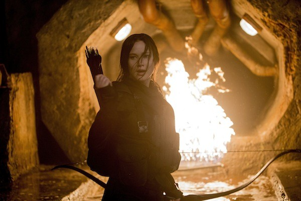 Jennifer Lawrence in The Hunger Games: Mockingjay — Part 2 (Photo: Lionsgate)