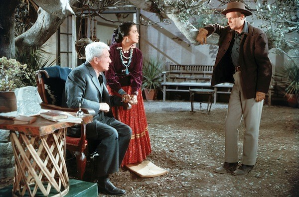 Spencer Tracy, Katy Jurado and Richard Widmark in Broken Lance (Photo: Twilight Time)