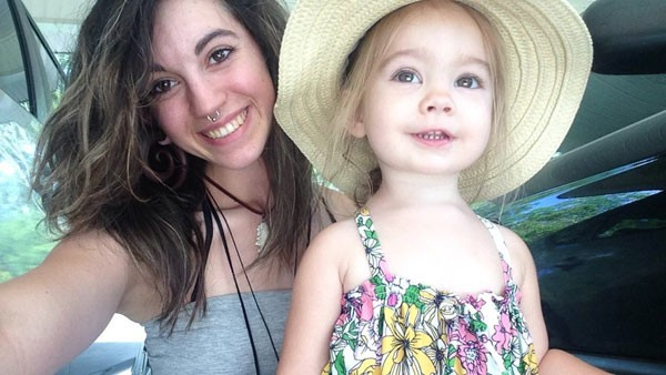 Maegan Severt with her daughter, Lily, after Maegan began the recovery process from her heroin addiction. - COURTESY OF MAEGAN SEVERT