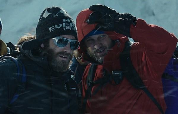 Jake Gyllenhaal and Jason Clarke in Everest (Photo: Universal)