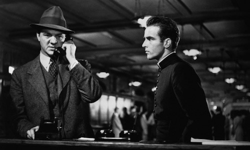 Karl Malden and Montgomery Clift in I Confess (Photo: Warner Bros.)