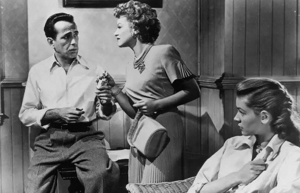 Humphrey Bogart, Claire Trevor and Lauren Bacall in Key Largo (Photo: Warner Bros.)