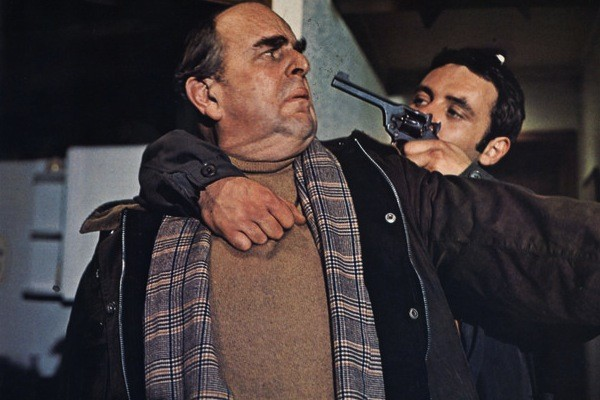 Robert Morley and Anthony Hopkins in When Eight Bells Toll (Photo: Kino)