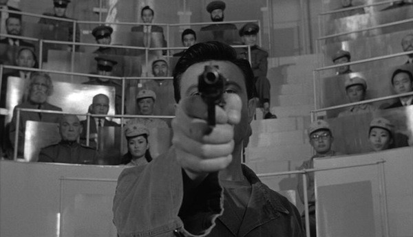 Laurence Harvey in The Manchurian Candidate (Photo: Criterion)