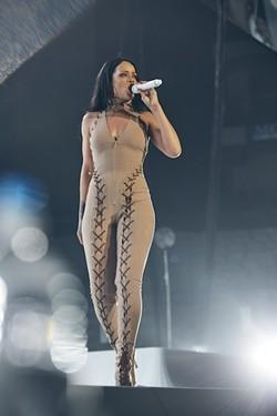 Rihanna at a previous stop on the Anti World Tour. - DENNIS LEUPOLD