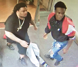 Antonio Covington, left, has been charged with the murder of Ernest Cash, Jr. on March 31.