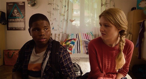 Markees Christmas and Lina Keller in Morris from America (Photo: A24)