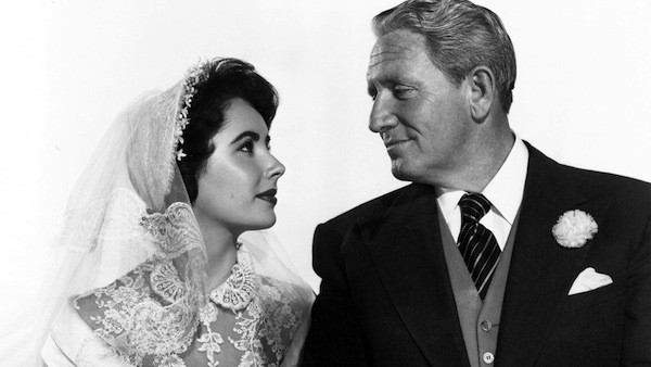 Elizabeth Taylor and Spencer Tracy in Father of the Bride (Photo: Warner)
