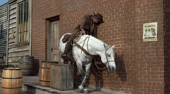 Lee Marvin in Cat Ballou (Photo: Twilight Time)