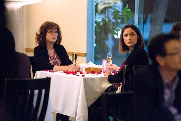 Susan Sarandon and Rose Byrne in The Meddler (Photo: Sony Pictures Classics)