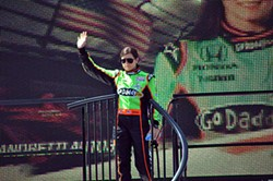 """Danica Patrick lost her GoDaddy.com sponsorship in 2015, although the company has remained supportive and a spokesperson stated they aim """"to keep her in the GoDaddy Family."""" - PHOTO BY BRYCE WOMELDURF"""