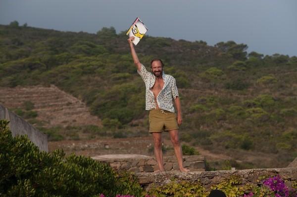 Ralph Fiennes in A Bigger Splash. (Photo: Fox Searchlight)
