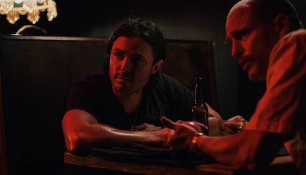 Casey Affleck and Woody Harrelson in Triple 9 (Photo: Universal)