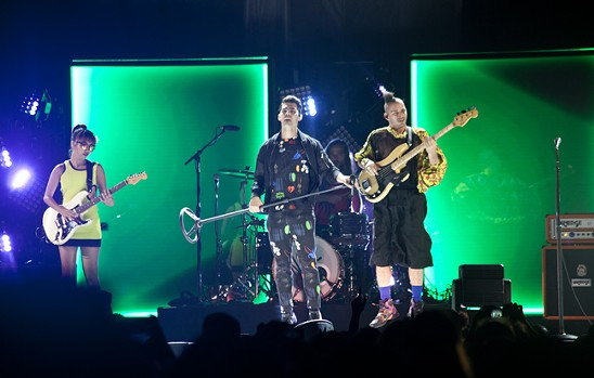 DNCE - PHOTO BY JEFF HAHNE