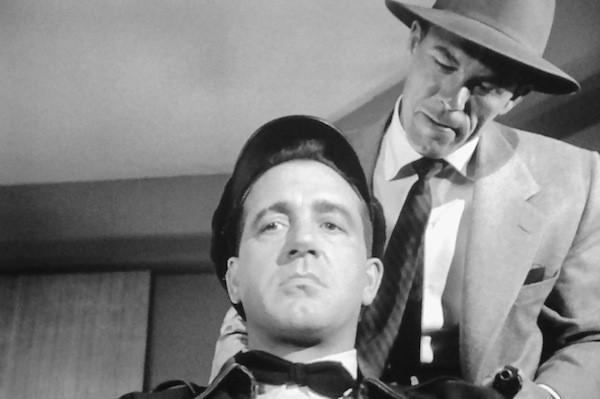 John Payne and Jack Lambert in 99 River Street (Photo: Kino)